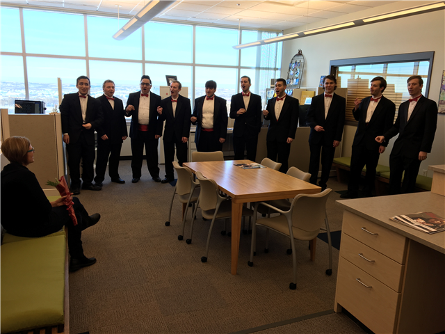 BSC men's ensemble will serenade your Valentine - image