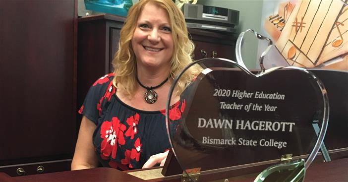 BSC music professor Dawn Hagerott named Chamber EDC 2020 Outstanding Teacher - image